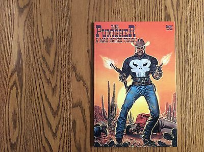 The Punisher A Man Named Frank..prestige Format..nm+++++
