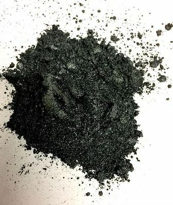 100g Resin4Art Metallic Colour Pigments for Epoxy Resin: Silver Black