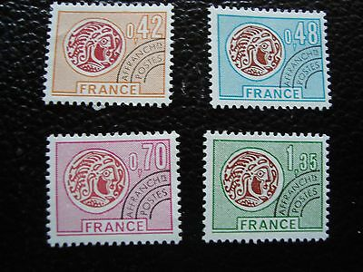 FRANCE - timbre yvert et tellier preoblitere n° 134 a 137 n* (A34) stamp french