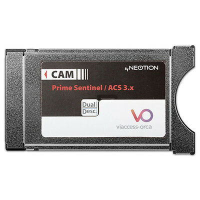 CAM NEOTION Codifica Viaccess-Orca Prime Sentinel / ACS 3.x Dual Descrambling