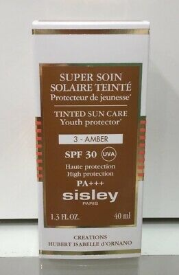 Sisley Tinted Sun Care Youth Protector  3-Amber  Spf 30 ,40 Ml