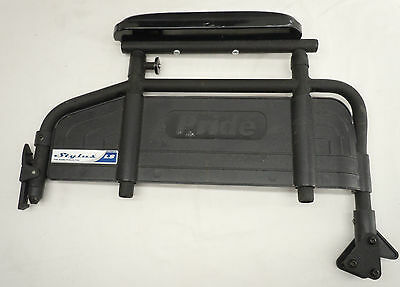 2 Pride Mobility Stylus LS WheelChair Side Panel Arm Rest Assembly Parts