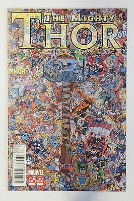 The Mighty Thor #22 Collage Variant NM - Marvel