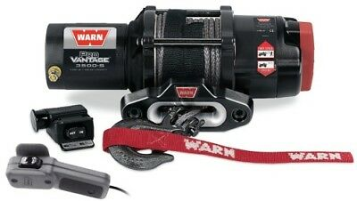 Warn Winch 90351 ProVantage 3500-s Powersports Winch 3,500 Lbs. Synthetic Rope