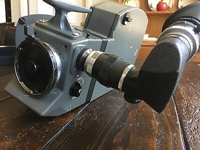 CInema Products GSMO Super 16mm Camera PL mount  modfied by Panavision two mags