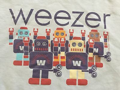 Vintage Weezer 2005 Tour Adult Concert Weezer Lego Extremely Rare T-shirt XL