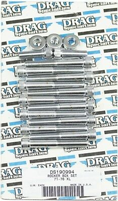 Drag Specialties DS-190994 Individual Chrome Socket-Head Bolt Set Bolt Kit MK208