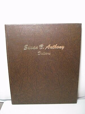 SUSAN B ANTHONY SBA Dansco book #8180 w/ 13 BU/PROOF Dollars. W/ 1979-s T-1 & 2