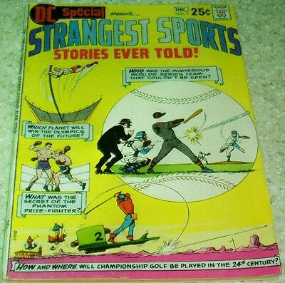 DC Special 9: Strangest Sports Stories, FN+ (6.5) 1970, 40% off Guide!
