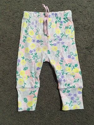 Baby Girls Bonds Leggings Size 000 EUC