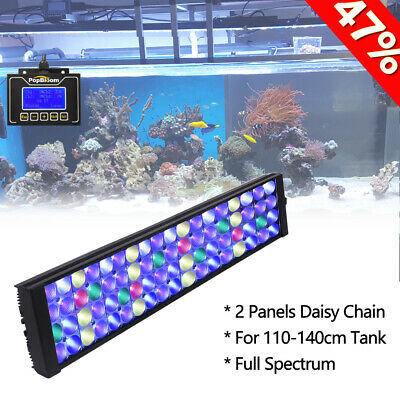 DSunY Marine Aquarium LED Light 48 4 Coral Reef SPS LPS Fish Tank Light Dimmable