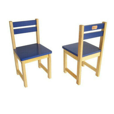 Childrens Chairs | Set of 2 Kids Chairs Blue | STOCK CLEARANCE