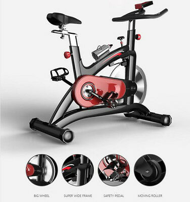 Home Exercise Bike Magnetic Trainer Cardio Fitness Workout Machine 14KG WHEEL