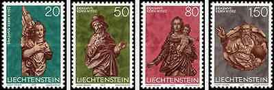 Timbres Noel Liechtenstein 629/32 ** lot 6394