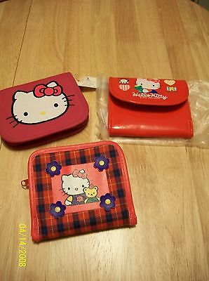 Sanrio Vintage Hello Kitty Wallet Lot
