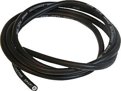 MSD Powersports 34013 Bulk Super Conductor 8.5mm Wire 25ft. - Black 34013