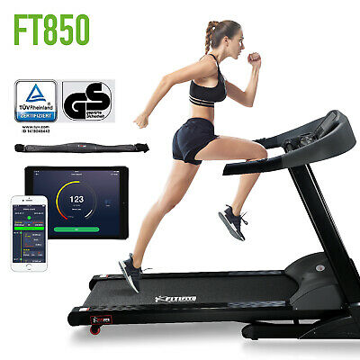 TOP ANGEBOT!!! Profi Laufband Fitnessgerät Fitifito FT850 7PS Klappbar 7PS HRC