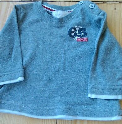 boys long sleeved top age 6-9 months