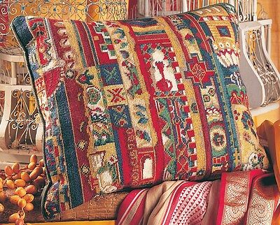 EHRMAN JAIPUR STRIPE by ANNABEL NELLIST TAPESTRY NEEDLEPOINT KIT - RETIRED