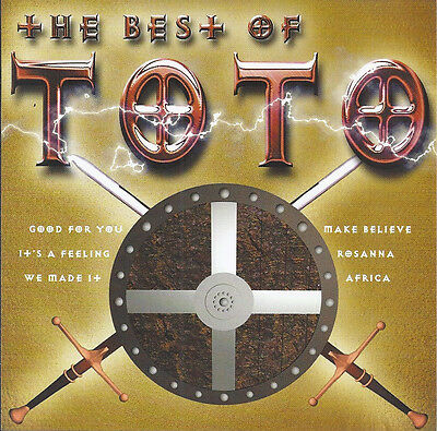 CD The Best Of Toto (incl. Rosanna, Africa) - Rare Compilation!