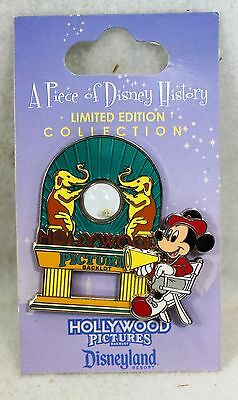 Disney DLR Disneyland Resort A Piece of History Pin Hollywood Pictures