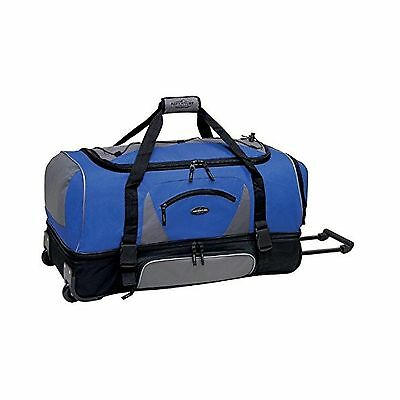 Travelers Club Luggage 57036410 Adventurer Duffel Collection 36-Inch Navy/Black