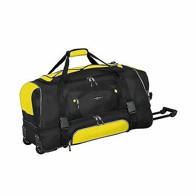 Travelers Club Luggage 57030700 Adventurer Duffel Collection 30-Inch Rolling ...