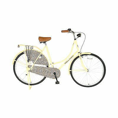 Hollandia City Leopard Dutch Cruiser Bike with Chain Guard and Dress Guard 28...