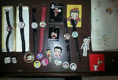 huge lot of vintage betty boop stuff!! $$ no reserve!