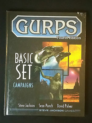 GURPS Basic Set : Campaigns (2004, Hardcover)