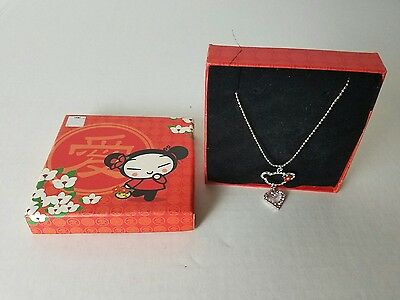 Pucca eternal love necklace - rare - from Japan in box , cartoon anime disney