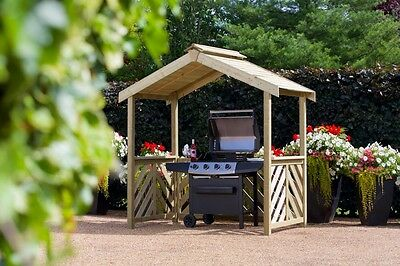 Anchor Fast Exmouth Barbecue Shelter Pressure Treated  Solid wood