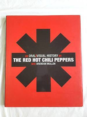 Book The Red Hot Chili Peppers An Oral/visual History Bio 1St Edition Hardcover