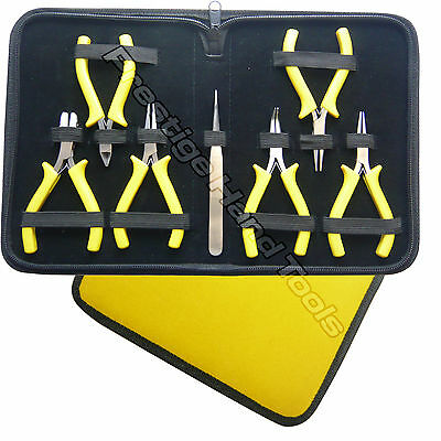 Beading tools Kit Mini pliers set Jewellery Making tools Nylon jaw Prestige tool