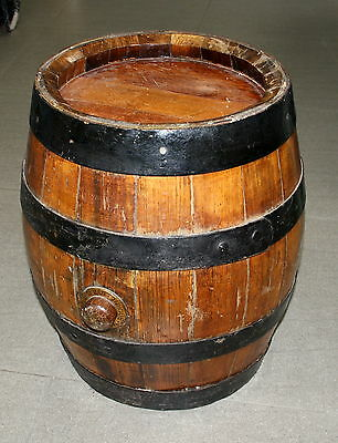 (M) Carlton and United Breweries Wooden Barrel/Keg