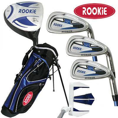 NEW JUNIOR GOLF SET 6 PCE for KIDS 4 to 7yrs WITH BAG - CHILDRENS GOLF CLUBS
