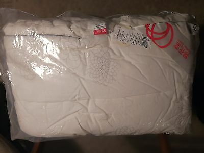 Cotton Town Comforter Duvet Insert Blanket White Nursery Baby Infant 100% Cotton