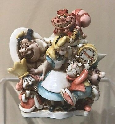 Disney Harmony Kingdom Figurine New in Box - Super Rare Alice in Wonderland LE