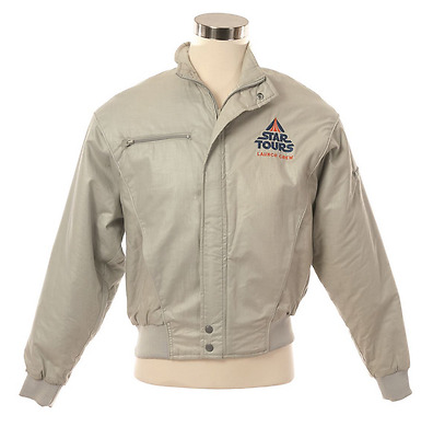 Authentic early 90's Star Tours Launch Crew size XL jacket from Disneyland RARE