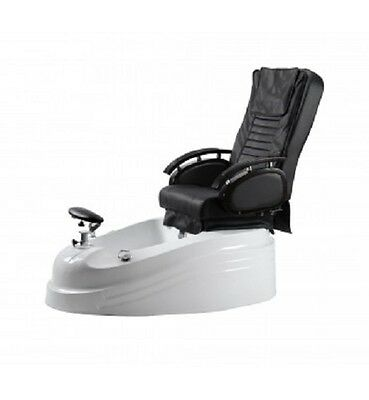 Pedicure Spa Massage Chair Pipeless Pedicure Foot rest Nail Supplies LED Light
