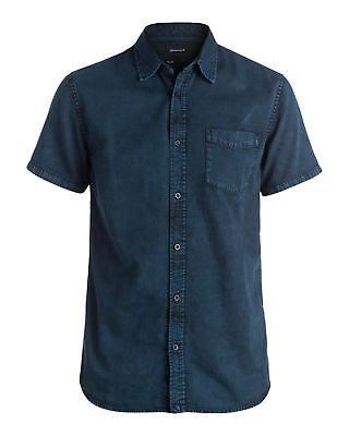 NEW QUIKSILVER™  Mens The Cleevers Short Sleeve Shirt Tops