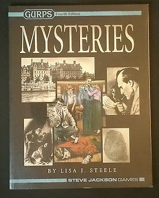 GURPS Mysteries (2008, Softcover)