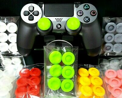 PS4 Thumb Grips / Caps - 6 x Analog Thumbstick Grip cap cover  PlayStation 4