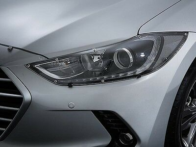 New Genuine Hyundai Headlight Protectors for Elantra 2016-Current - F2A34APH00