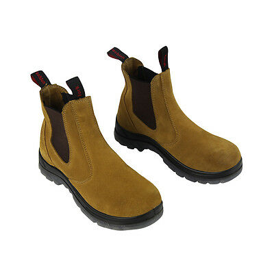 Safety Work Boots Steel Toe Elastic Footwear Mens boots Men's shoes