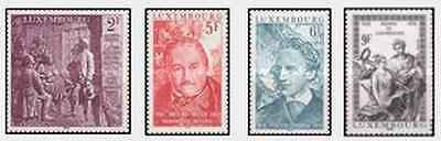 Timbres Luxembourg 939/42 ** lot 20489