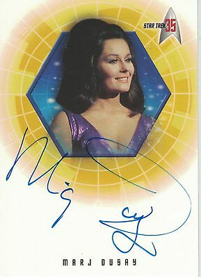 TOS 35th Anniversary: A20 Marj Dusay autograph