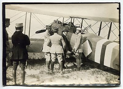 3 Photos - Guerre 14/18 - WW1 - Georges Clemenceau - Aviation - 1918 -