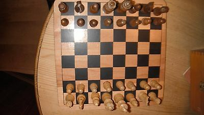 Wooden Boxed Chess Set