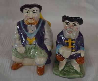 Melba Ware Toby Jugs - Henry VIII and The Story Teller